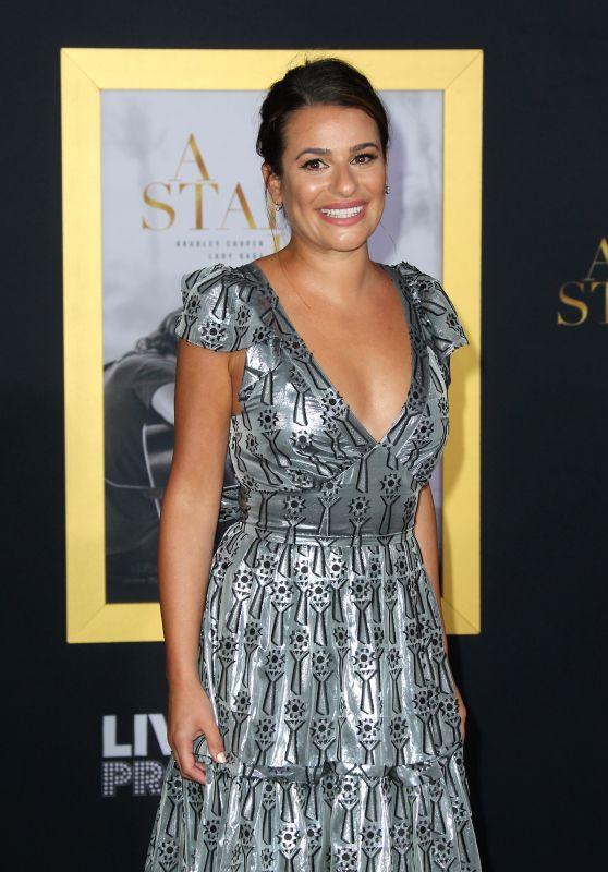"Lea Michele - ""A Star Is Born"" Premiere in Los Angeles"