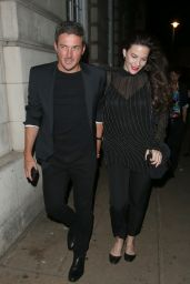 Liv Tyler and Dave Gardner - Leaving the LOVE Magazine LFW Party in London 09/17/2018