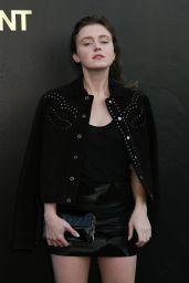 Lorraine Nicholson – Saint Laurent Show, Paris Fashion Week 09/25/2018