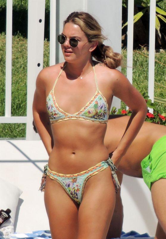 Louisa Johnson in Bikini in Marbella, September 2018