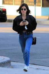 Lucy Hale in Jeans - Los Angeles 09/25/2018