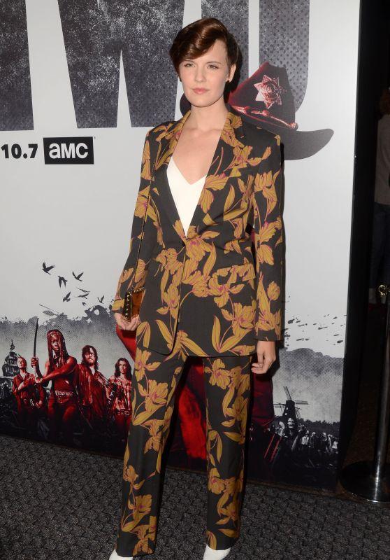 """Maggie Grace – """"The Walking Dead"""" Season 9 Special Screening in LA"""