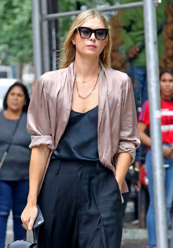 Maria Sharapova - Out in NYC 09/11/2018