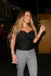 Mariah Carey - Leaves Dan Tana