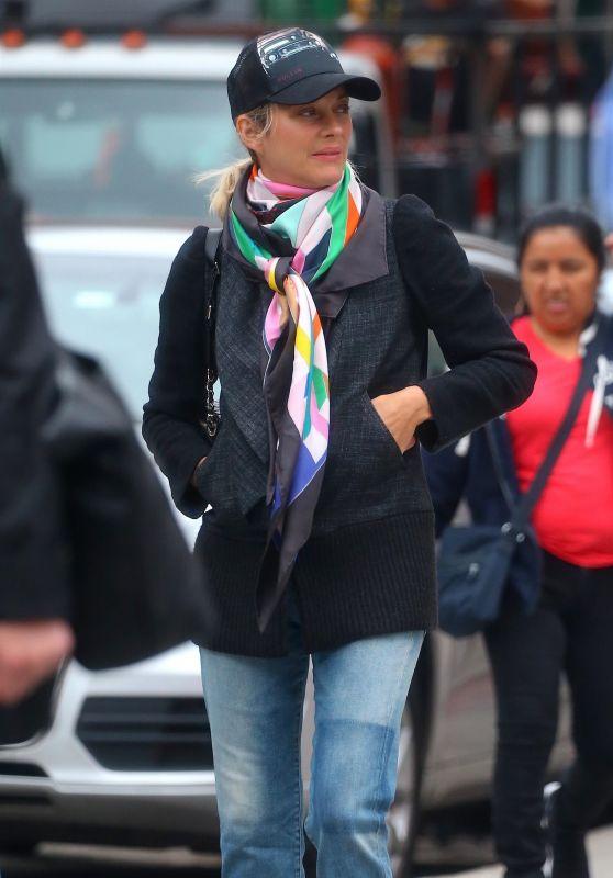 Marion Cotillard Walking Around Manhattan, New York 09/21/2018