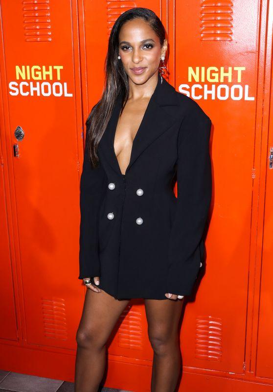 """Megalyn Echikunwoke – """"Night School"""" Premiere in LA"""