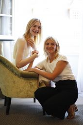 """Mélanie Laurent and Elle Fanning - """"Galveston"""" Photocall Portraits in Deauville"""