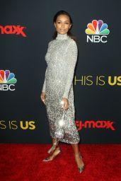 "Melanie Liburd – ""This Is Us"" TV Show Screening in LA"