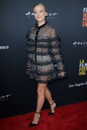 "Meredith Hagner - ""The Oath"" Premier at LA Film Festival"