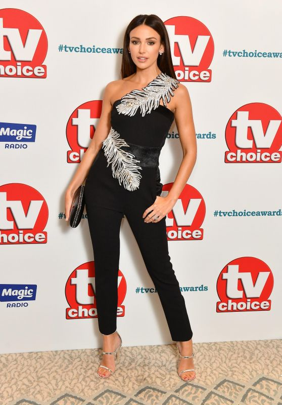 Michelle Keegan – 2018 TV Choice Awards in London