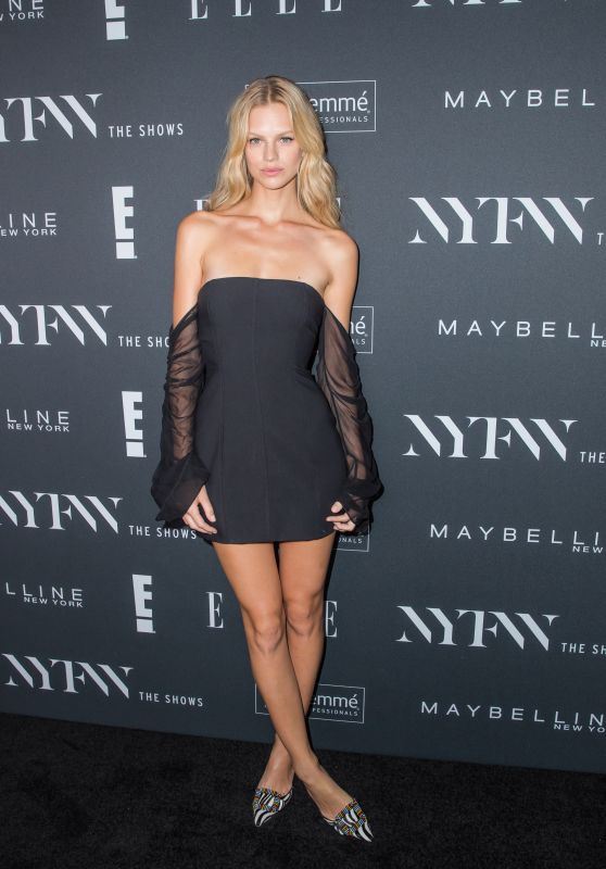 Nadine Leopold – E!, ELLE & IMG Kick-Off Perty in NYC 09/05/2018