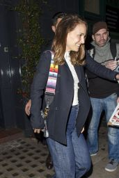 Natalie Portman - Leaving Pub in London 09/27/2018