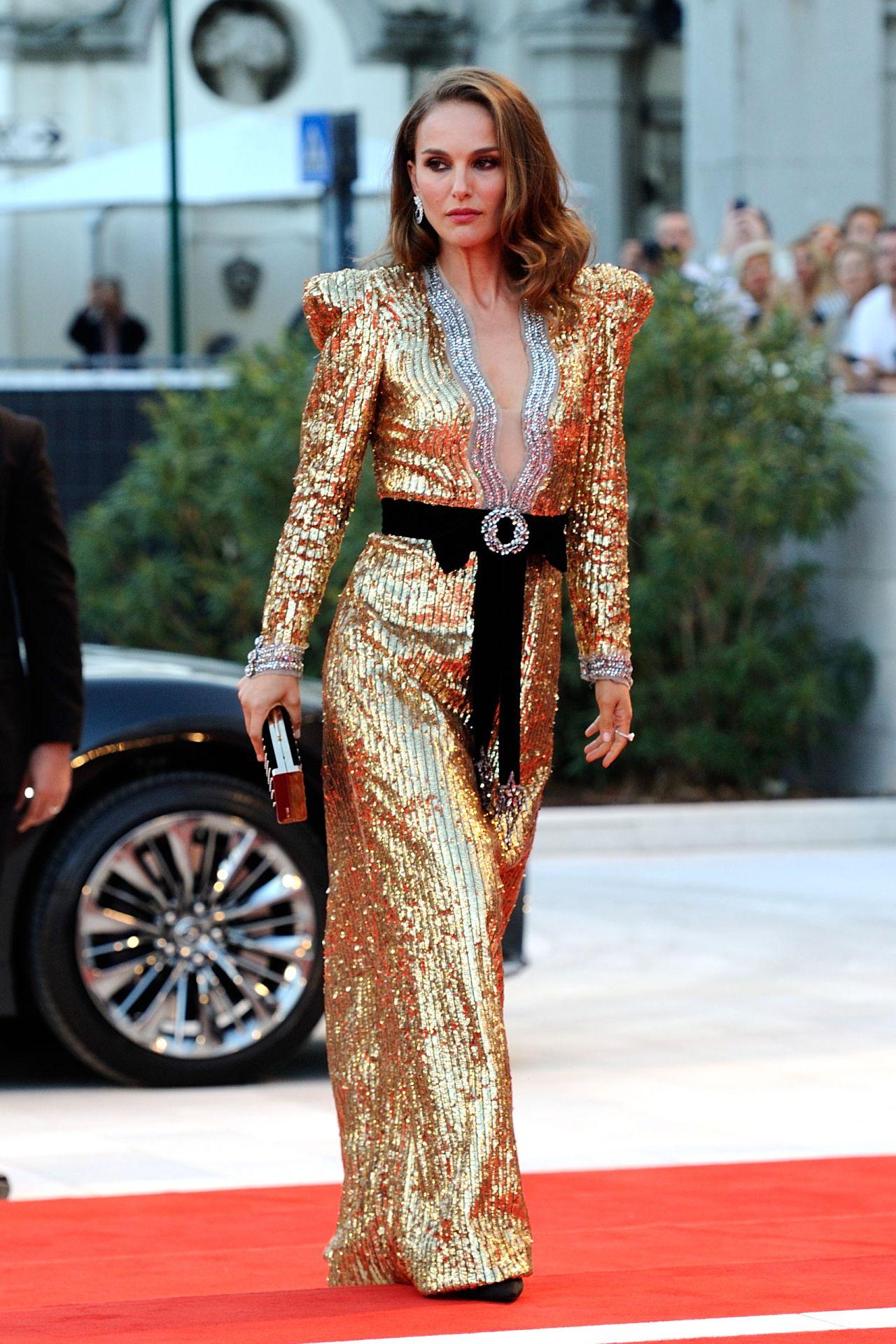 Natalie Portman Quot Vox Lux Quot Red Carpet At Venice Film Festival