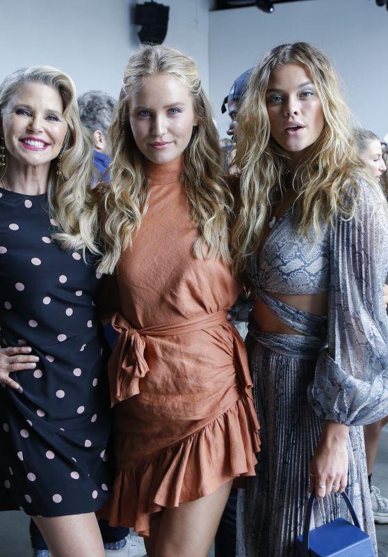 Nina Agdal – Zimmermann Fashion Show at NYFW 09/10/2018