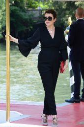 Olivia Colman - Arrives at the Excelsior Hotel in Venice 08/30/2018
