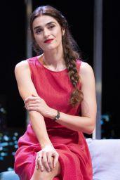"Olivia Molina - ""Perfect strangers"" at the Teatro Reina Victoria in Madrid 09/25/2018"