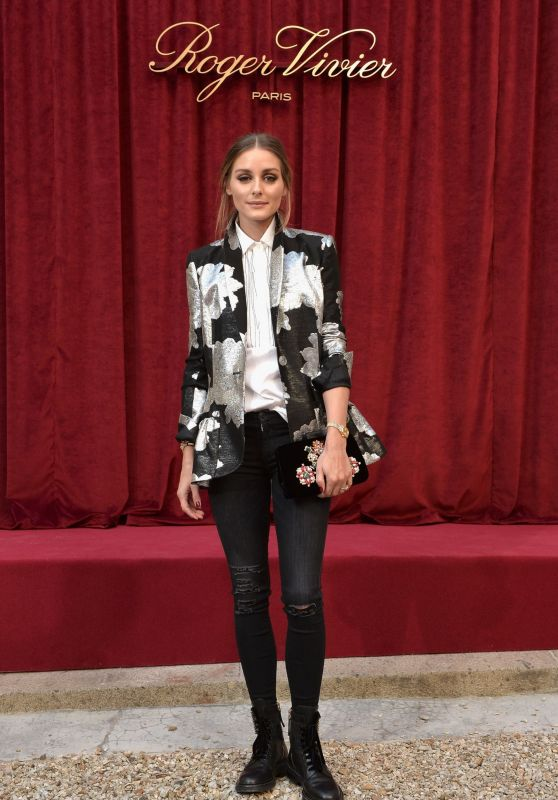 Olivia Palermo - Roger Vivier Presentation at Paris Fashion Week 09/27/2018