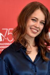 "Paula Beer – ""Never Look Away"" Photocall at Venice Film Festival"