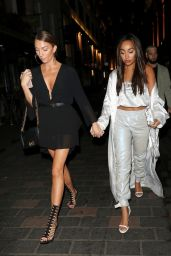 Perrie Edwards, Leigh-Anne Pinnock and Jesy Nelson at Cirque in London 09/22/2018
