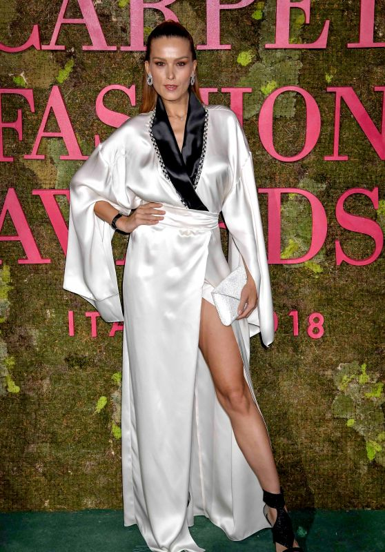 Petra Nemcova – Green Carpet Fashion Awards in Milan 09/23/2018