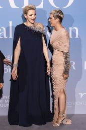 Princess Charlene of Monaco – Monte-Carlo Gala for the Global Ocean 2018