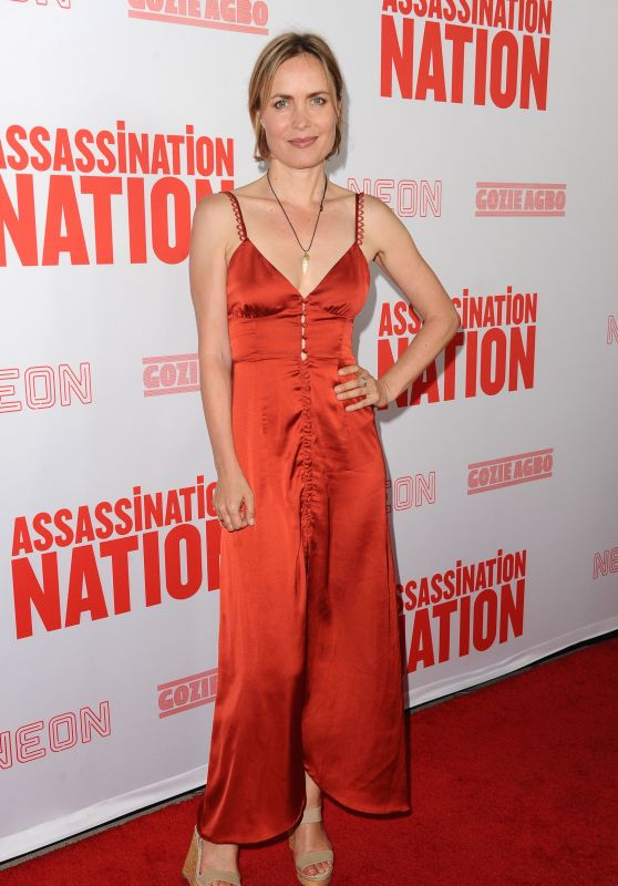 "Radha Mitchell - ""Assassination Nation"" Premiere in Hollywood"