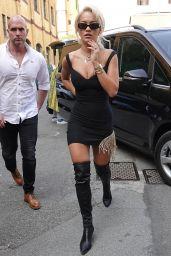Rita Ora at Milan Fashion Week 09/21/2018