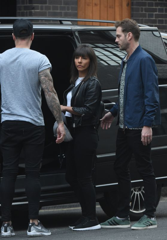 Roxanne Pallett in Casual Outfit - Leaving a Hotel in London 09/03/2018
