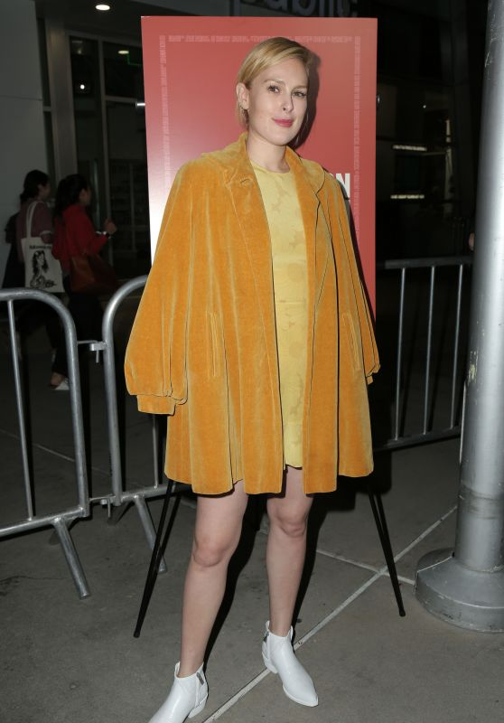 "Rumer Willis – ""Assassination Nation"" Premiere in LA"