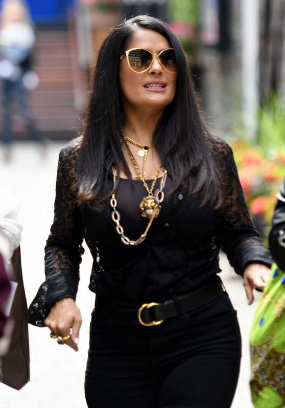 Salma Hayek - Out in Toronto 09/08/2018