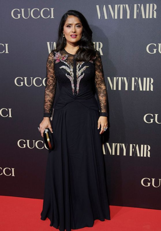 Salma Hayek – Vanity Fair Personality of the Year Awards in Madrid 09/26/2018