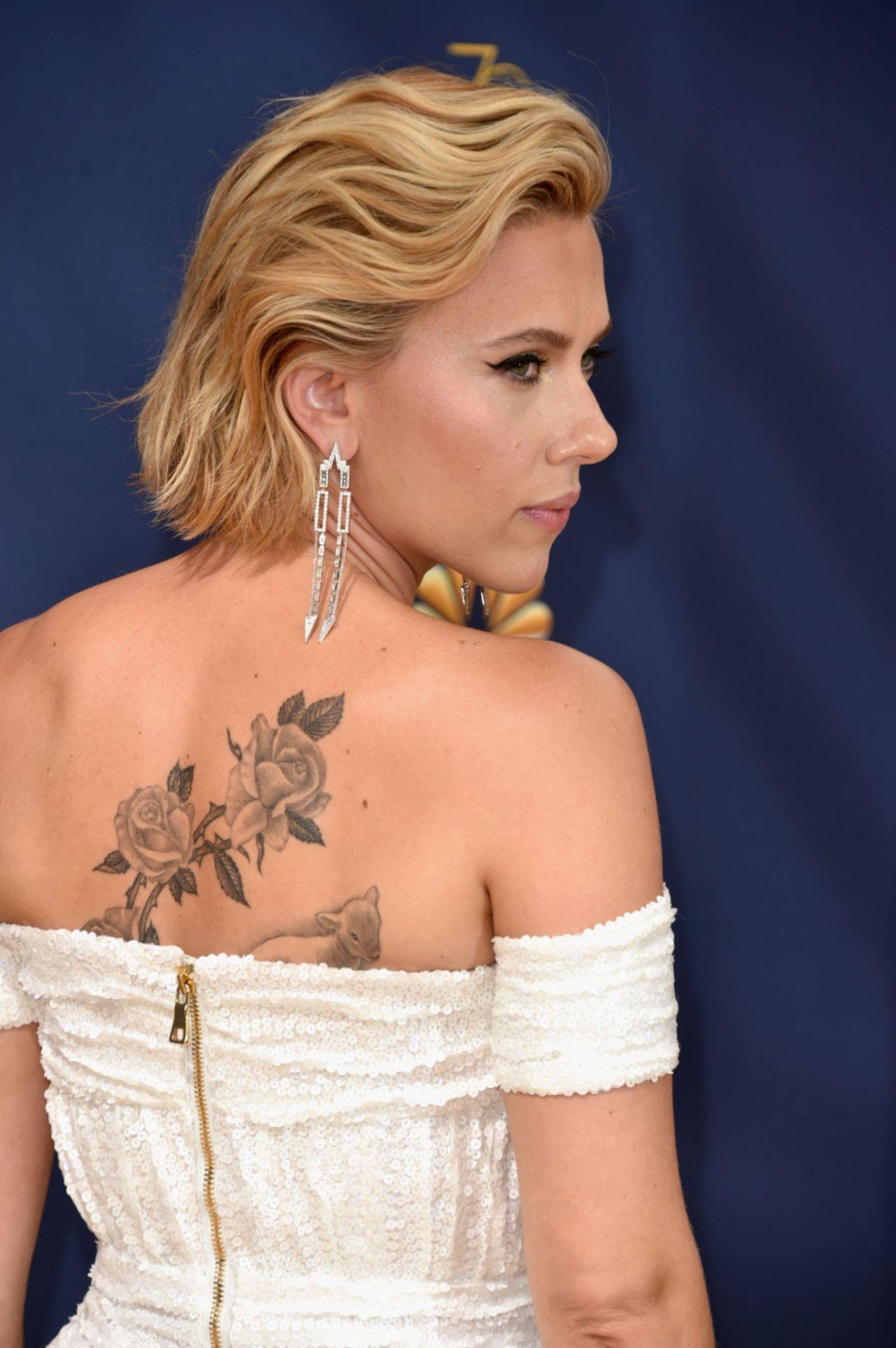Scarlett Johansson 2018 Emmy Awards