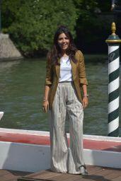 Serena Rossi – Arriving at the 75th Venice Film Festival 09/02/2018