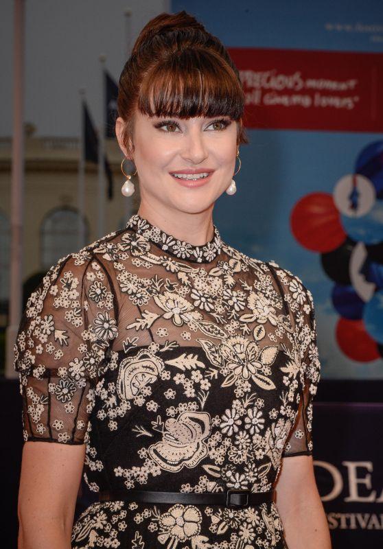 "Shailene Woodley - ""Adrift"" Red Carpet at Deauville American Film Festival in France"