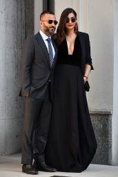Sonam Kapoor - Giorgio Armani Show at Milan Fashion Week 09/23/2018