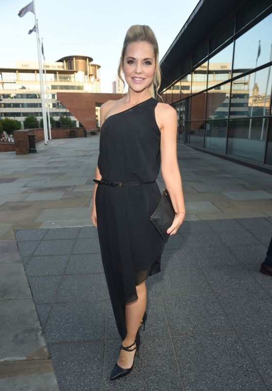 Stephanie Waring - Eddie Stowbart Charity Ball in Manchester 08/31/2018