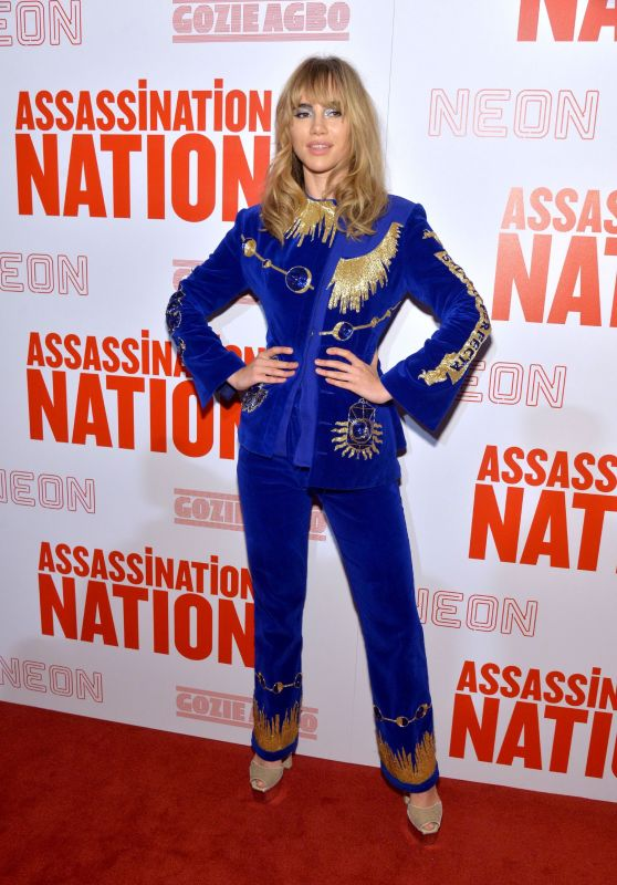 "Suki Waterhouse - ""Assassination Nation"" Screening in New York"