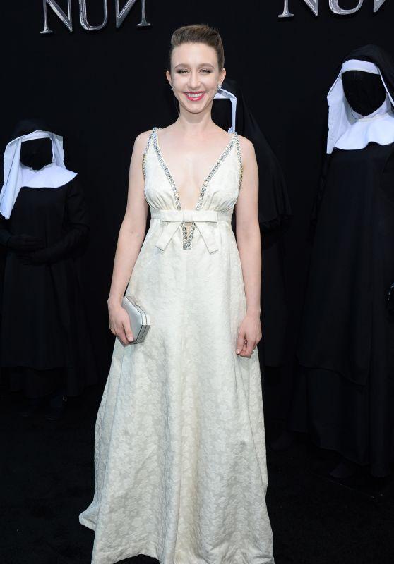 """Taissa Farmiga – """"The Nun"""" Premiere in Hollywood"""
