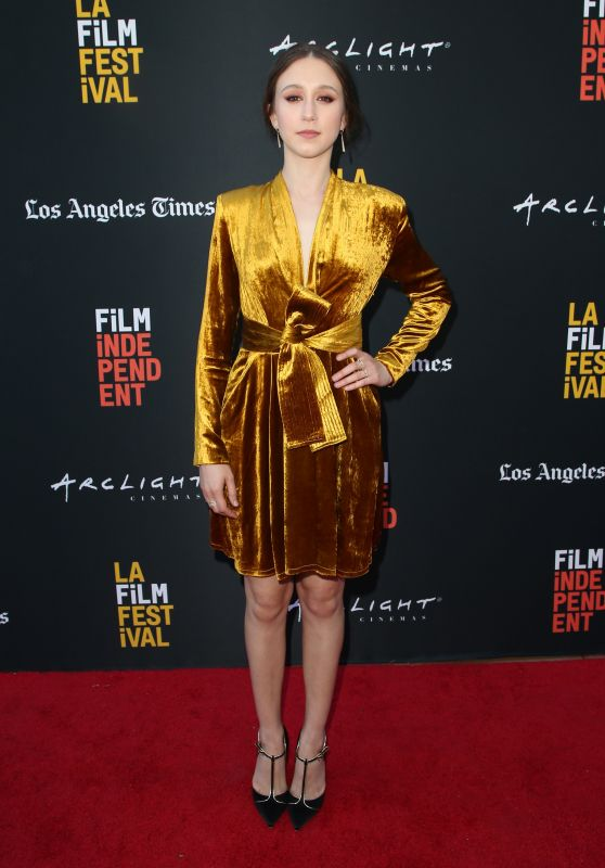 """Taissa Farmiga - """"We Have Always Lived In The Castle"""" Premiere at LAFF"""
