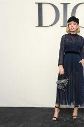 Tanya Burr – Christian Dior Show, Paris Fashion Week 09/24/2018