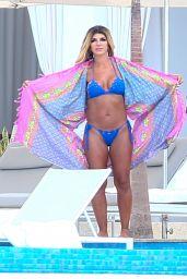 Teresa Giudice in Bikini in Cabo 08/31/2018