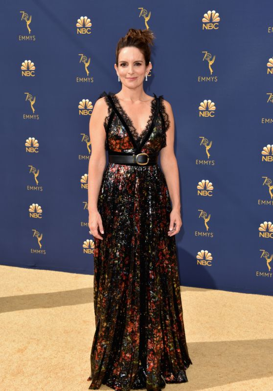 Tina Fey – 2018 Emmy Awards