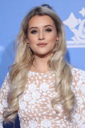 Tina Stinnes – The National Lottery Awards in London 09/21/2018