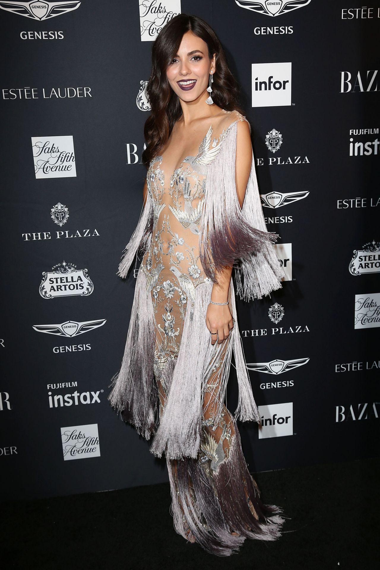 Victoria Justice Harper S Bazaar Icons Party In Nyc 9 7 18