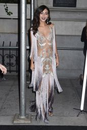 Victoria Justice – Outside Harper's Bazaar Icons Party in NYC 9/7/18