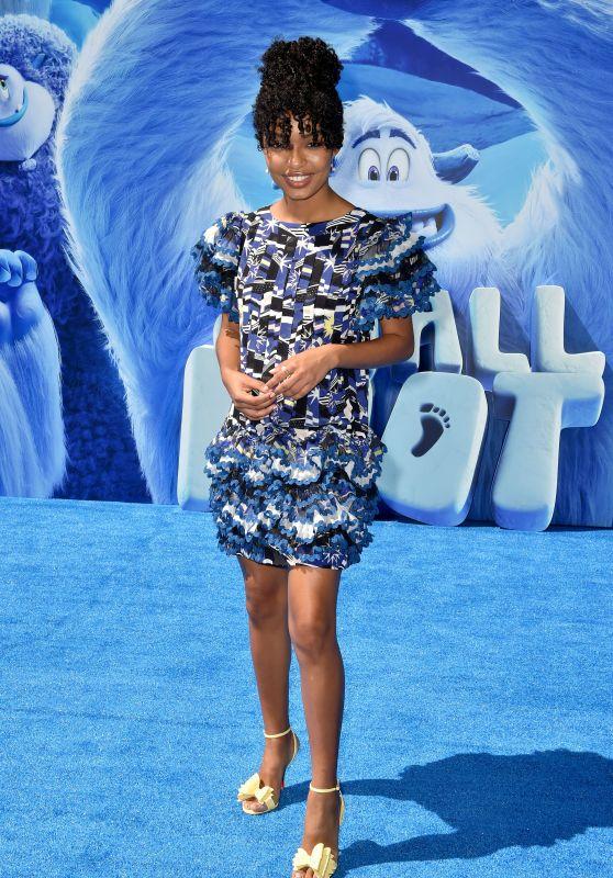 "Yara Shahidi – ""Smallfoot"" Premiere in Los Angeles"