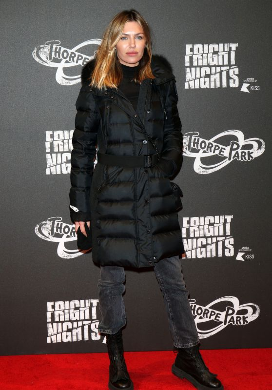 Abbey Clancy – Fright Night at Thorpe Park in Chertsey 10/04/2018