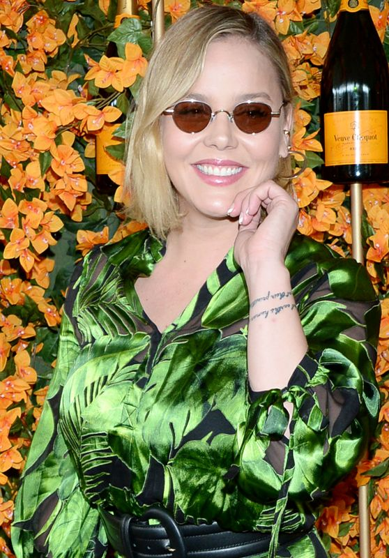 Abbie Cornish – 2018 Veuve Clicquot Polo Classic in LA