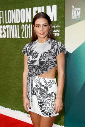 """Adele Exarchopoulos - """"The White Crow"""" Premiere at 62nd BFI London Film Festival"""