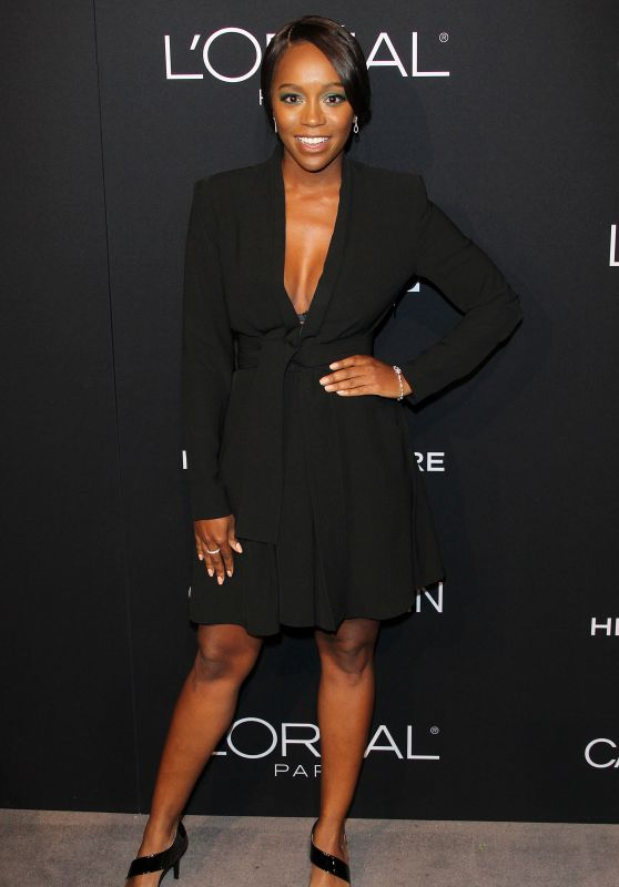 Aja Naomi King – Elle's 25th Annual Women in Hollywood Celebration in LA